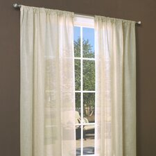 Weathershield Insulated Rod Pocket Curtain Single Panel