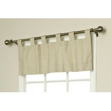 """Weathermate Solid 40"""" Curtain Valance"""