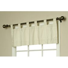 Weathermate Solid Cotton Curtain Valance