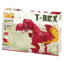 <strong>LaQ USA</strong> Dinosaur World 300 Piece T-Rex Puzzle