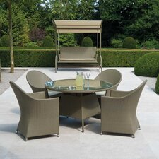 Havana 5 Piece Round Dining Set