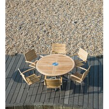 Avant Round Table Dining Set