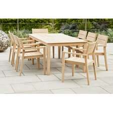 Tivoli 9 Piece Rectangular Dining Table Set