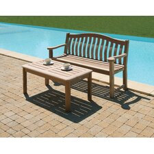 Mahogany Traditional Turnberry Bench