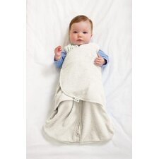 Microfleece SleepSack Swaddle in Cream (Small)