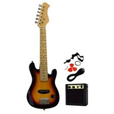 Kids Electric Guitar in Sunburst