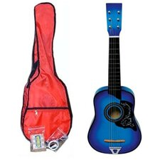 Kids' Toy Acoustic Guitar Kit in Blue