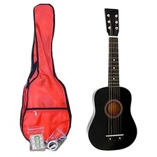 Kids' Toy Acoustic Guitar Kit in Black