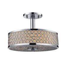 Synergy 3 Light Semi Flush Mount