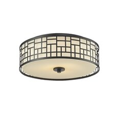 Elea 3 Light Flush Mount