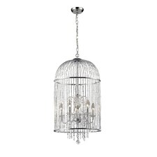 Avary 5 Light Crystal Chandelier
