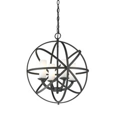Aranya 4 Light Foyer Pendant
