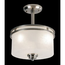 Cobalt 3 Light Semi Flush Mount