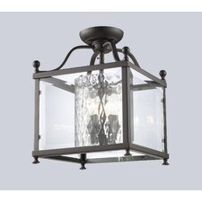 Fairview 3 Light Semi Flush Mount