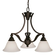 <strong>Z-Lite</strong> Carlisle 3 Light Chandelier