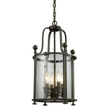 Wyndham 4 Light Foyer Pendant