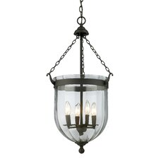Warwick 4 Light Foyer Pendant