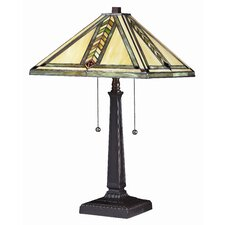 "Shalimar 23"" H Table Lamp with Square Shade"