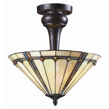 Moa 3 Light Semi Flush Mount