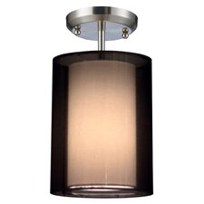 Nikko 1 Light Semi Flush Mount