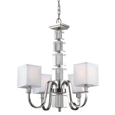 <strong>Z-Lite</strong> Drake 4 Light Chandelier