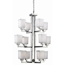 Affinia 12 Light Chandelier