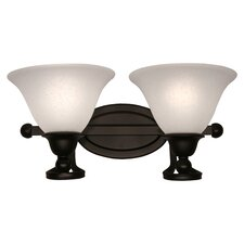 <strong>Z-Lite</strong> Carlisle 2 Light Wall Sconce