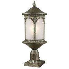 "Hampton 1 Light 22.25"" Outdoor Post Lantern"