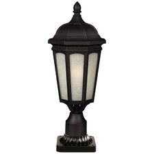 "Newport 1 Light 21.65"" Outdoor Post Lantern"