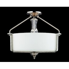 Avignon 3 Light Semi-Flush Mount