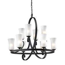 Arshe 10 Light Chandelier