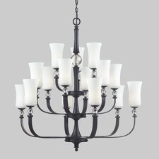 Harmony 15 Light Chandelier