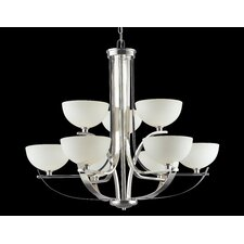 <strong>Z-Lite</strong> Ellipse 9 Light Chandelier