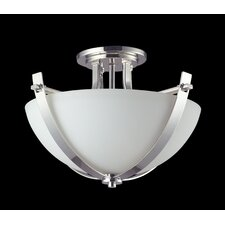Ellipse 3 Light Semi-Flush Mount