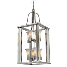 Lotus 8 Light Foyer Pendant