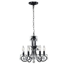 <strong>Z-Lite</strong> Pearl 5 Light Mini Chandelier