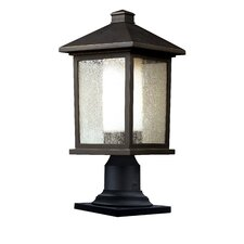 <strong>Z-Lite</strong> Mesa 1 Light Outdoor Post Lantern