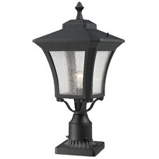 "<strong>Z-Lite</strong> Waterdown 1 Light 25.5"" Outdoor Post Lantern Set"
