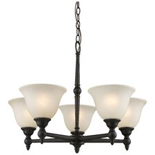 Clayton 5 Light Chandelier