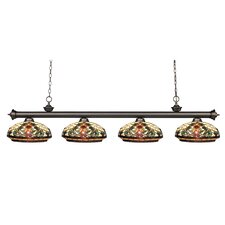 Riviera 4 Light Billiard Light