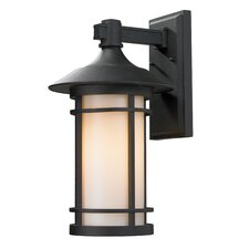 <strong>Z-Lite</strong> Woodland 1 Light Outdoor Wall Light