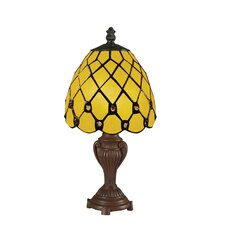 "Mini Tiffany Style 8 12"" H Table Lamp"