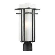 <strong>Z-Lite</strong> Abbey 1 Light Outdoor Post Lantern