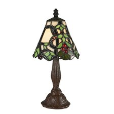 "Mini Tiffany 12"" H Table Lamp"
