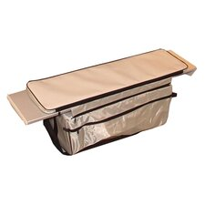 Padded Bench Seat Top & Hanging Underseat Bag