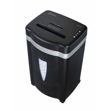 Paper Shredder 12 Sheet Micro-cut in Black