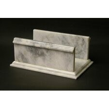<strong>Nature Home Decor</strong> Towel Holder in White Marble