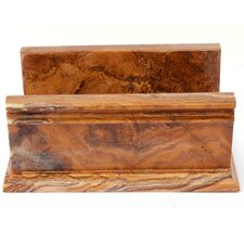 <strong>Nature Home Decor</strong> Towel Holder in Multi Onyx