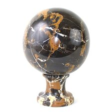 Michelangelo Marble Sphere Sculpture