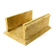 Towel Holder in Sahara Beige Marble